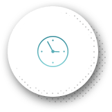 Animated wall clock